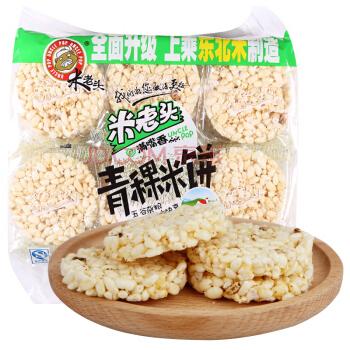 米老头 青稞米饼 花生味 400g