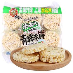 米老头 青稞米饼 花生味 400g *2件