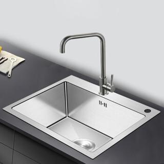 KEGOO 科固  K10018 304不锈钢手工水槽龙头套装