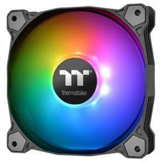 Thermaltake 曜越 Pure Plus 12 LED RGB 机箱风扇 三只装+数位控制盒