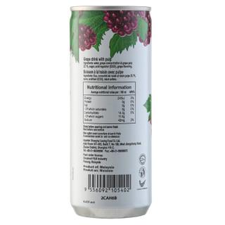 DReena 特丽娜 葡萄果肉饮料 240ml*6罐