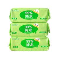 PureYoung 飘漾 婴儿柔湿巾 80片*3联包