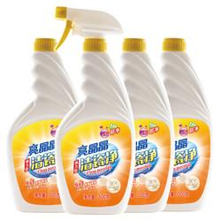 亮晶晶 瓷砖清洁剂(洁瓷净500g*4瓶) *2件