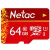 Netac 朗科 64GB Class10 TF内存卡 中国红 49元