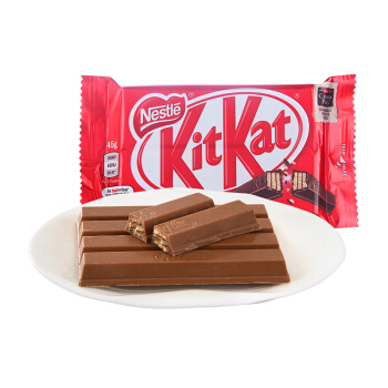 Nestlé 雀巢 KitKat 奇巧 威化牛奶巧克力 45g *18件
