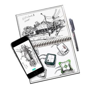 ELFIN BOOK 2.0 智能可重复书写笔记本子 50页 (单个装、A5、黑色)