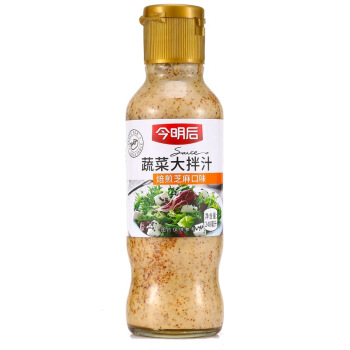 今明后 蔬菜大拌汁 焙煎芝麻口味 248ml