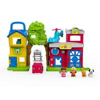 费雪(Fisher-Price)早教益智玩具 小小探索家 宠物救援小站 FKR65