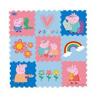 Peppa Pig 小猪佩奇 EVA彩虹爬行垫 30*30*1cm 9片