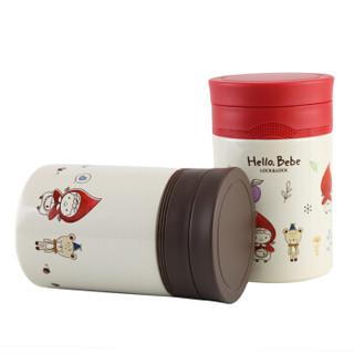 LOCK&LOCK 乐扣乐扣 HBB340BRW HELLO BEBE 焖烧罐 (500mL)