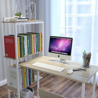 朗程 电脑桌 带书架