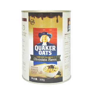 QUAKER 桂格 巧克力风味即食燕麦片 358g