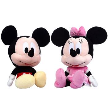 Disney 迪士尼 米奇米妮毛绒公仔 43cm