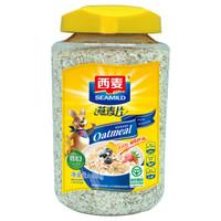 SEAMILD 西麦 即食燕麦片 880g 桶装