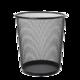 妙然加厚金属网垃圾桶大小号 厨房卫生间家用清洁桶 办公环保废纸篓 网状垃圾桶240mm