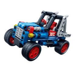 邦宝(小颗粒)益智拼插积木 儿童玩具生日礼物-极速酷跑6960 *9件