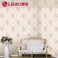 LG 裸粉色 1012-2宫廷锦缎花 进口环保墙纸 (欧式)