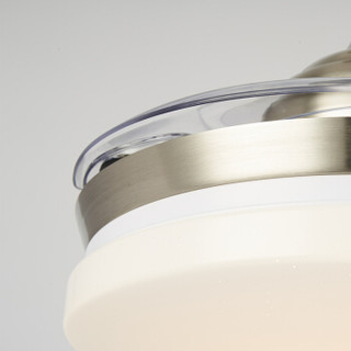 OPPLE 欧普照明 皓风 简约带LED吊扇灯 23w