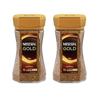 Nestlé 雀巢 瑞士原装金牌咖啡粉 100g 2罐装 *2件