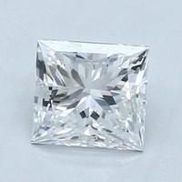 Blue Nile 0.80 克拉公主方形钻石(切割VG/成色D/净度VS1)
