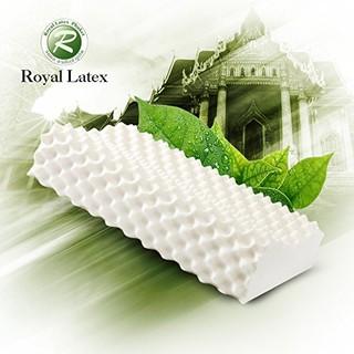 Royal Latex泰国皇家原装进口天然乳胶枕头按摩枕 (2个)