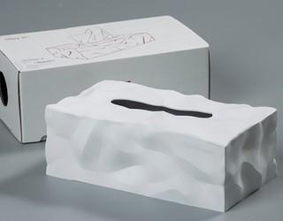 essey 创意褶皱抽纸巾盒 26*14*9.5 CM