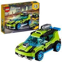 LEGO 乐高 创意百变组 31074 火箭拉力赛车