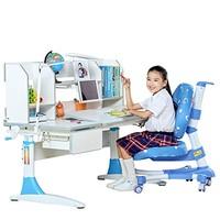 心家宜 M114+M200L+M622 儿童学习桌椅套装