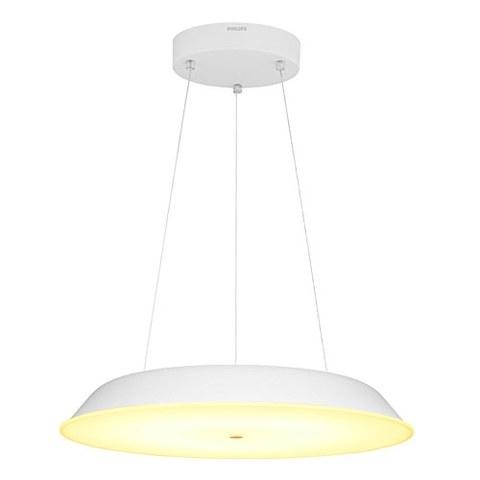 PHILIPS 飞利浦 豆蔻LED餐吊灯 20W 含光源 2700K 白色