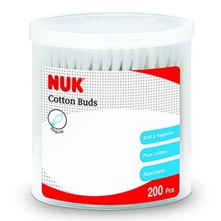 NUK 婴儿纯棉清洁棉签200只