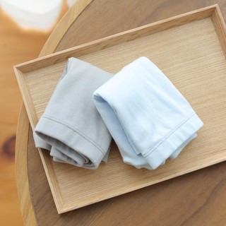 网易严选 有机棉平角内裤 (男童、2条装)