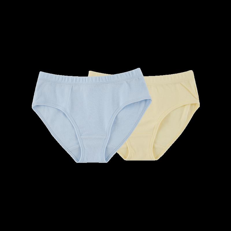 网易严选 有机棉三角内裤 (女童、2条装)