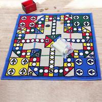 HUIDUO 惠多 飞行棋礼盒版游戏地毯 80*80cm