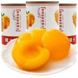 桃美人 砀山黄桃罐头 425g*6罐