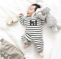 Minizone 宝宝长袖连体睡衣 0-3岁 *3件