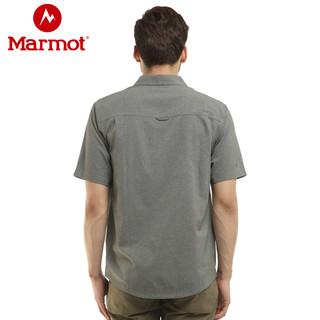 Marmot 土拨鼠 S54500 男士速干衬衣