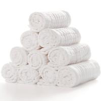 京东PLUS会员 : 威尔贝鲁(WELLBER)加大 婴儿12层水洗纱布尿布(10入)50*18cm *2件