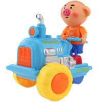 U.KAERGER 优卡家 猪小屁 电动拖拉机玩具