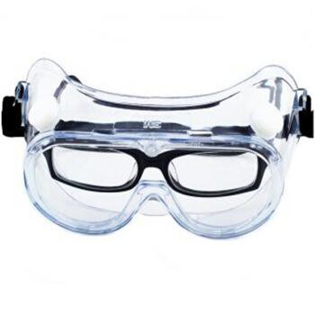 3M 1621AF 防雾型护目镜 防风沙  防冲击 防紫外线