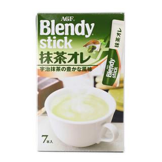 AGF 抹茶欧蕾味速溶奶茶 12g*7支