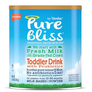 Similac 雅培 Pure Bliss Toddler 非转基因配方奶粉牛奶粉 2段 4罐