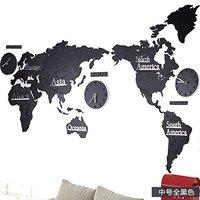 莱朗 世界地图挂钟