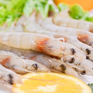 海买 厄瓜多尔白虾 (40-50只  1kg)