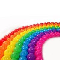 HUANGGUAN TOYS 皇冠玩具 彩虹海洋球50颗装 *2件