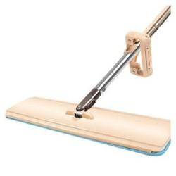 澳格菲(ORGEFY)免手洗平板拖把 拖布 擦木地板瓷砖旋转墩布 自挤水拖把 42cm加长板面 *2件
