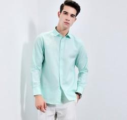 相思鸟 NC042 男士长袖衬衫 *3件