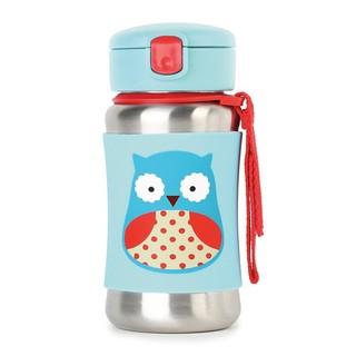 SKIP HOP 可爱动物园系列 婴儿吸管杯 (350ml、猫头鹰款)