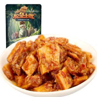三只松鼠牛板筋120g/袋 休闲零食肉干肉脯牛肉熟食小吃 麻辣味牛板筋 *11件