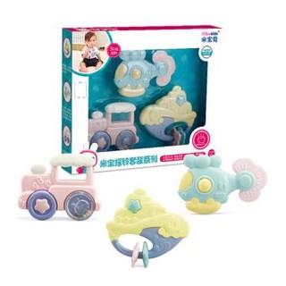 米宝兔 婴儿玩具牙胶套装 3只装 *2件