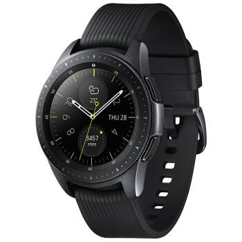 预售:SAMSUNG 三星 Galaxy Watch 智能手表 蓝牙版 42mm 午夜黑